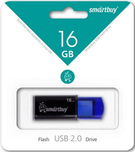 USB накопитель Smartbuy 16GB Click Blue