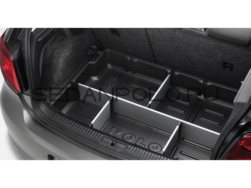 Поддон багажного отсека, пластик POLO sedan (VAG)