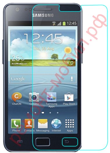 Защитное стекло для Samsung Galaxy S2 ( i9100 )