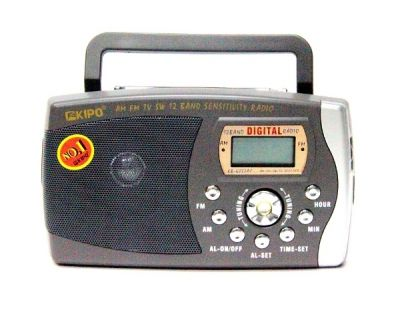 Радиоприёмник KIPO KB-6022 AC р/п сетев.+цифр
