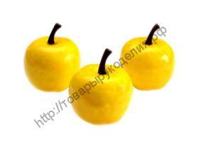 яблоко крупное жёлтое 35/30мм