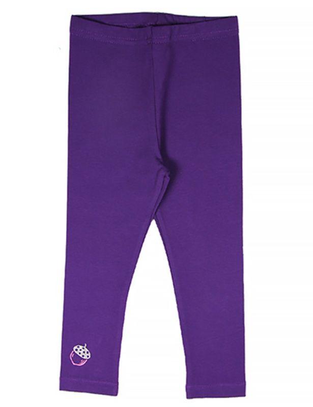 Фиолетовые лосины для девочки Фундучок