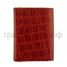 Обложка для документов Grand 02-027-3251 кайман красный