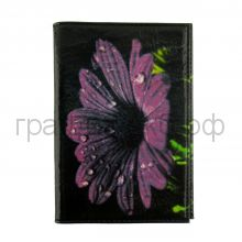 Обложка для паспорта Grand 02-006-063 Цветок