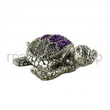 Статуэтка ItalSilver (Италия) Черепаха 2см серебро-гальванопластика 9828