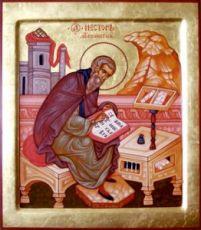 Икона Нестор Летописец (рукописная)
