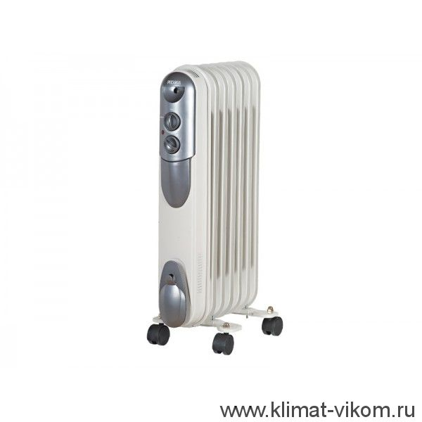 Масляный радиатор ОМПТ-7Н (1.5 кВт) 67/3/3