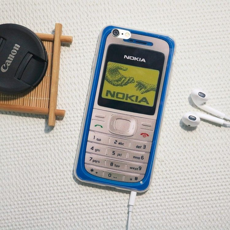 Силиконовый чехол для iPhone 6/6s (Nokia)