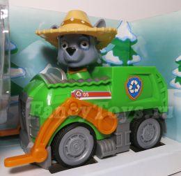 Роки на машинке мусоровоз с музыкой и светом (Щенячий патруль)