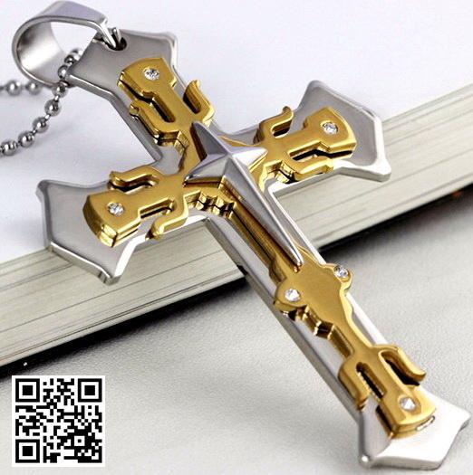 Массивный нательный крест