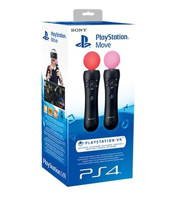 Комплект контроллеров PlayStation Move Twin Pack (PS4)