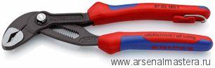 Высокотехнологичные сантехнические клещи Cobra, 180 мм KNIPEX 87 02 180T KN-8702180T