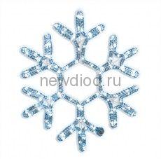 Снежинка Белая,38 см. с контроллером.