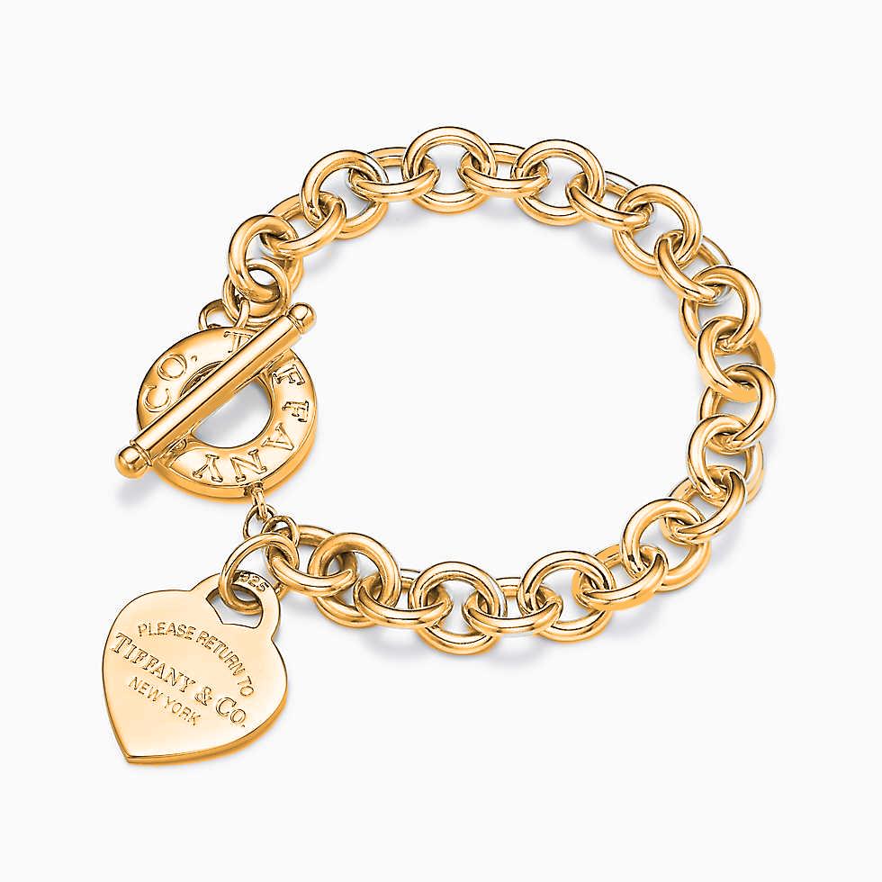 Браслет Return to Tiffany™ с жетоном в форме сердца