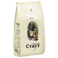 Корм сухой Стаут для собак крупных пород с ягненком и рисом 15кг