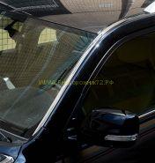 Хромированные накладки на крышу для Toyota Land Cruiser 200