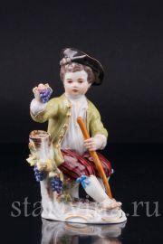 Мальчик с виноградом, Meissen, Германия, вт.пол.20 в