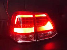 Задняя  альтернативная оптика диодная (Тип 2016) для Toyota Land Cruiser 200