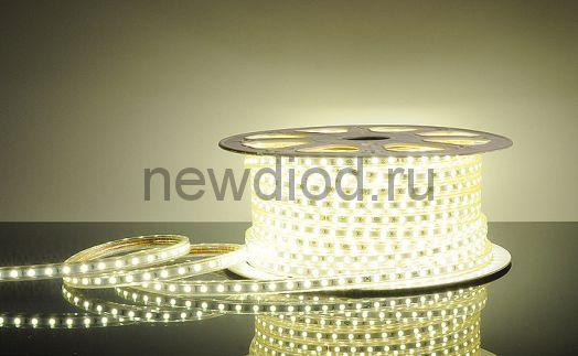Дюралайт LED Теплый белый, квадратный, 3-жилы