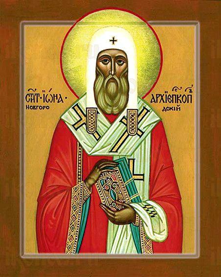 Иона Новгородский (рукописная икона)