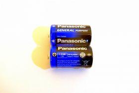 батарейка Panasonic R14 2/24
