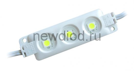 Светодиодный модуль SMD 5054/3LED 66LM 90*12*4,5 мм  IP65 warm white