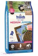 Bosch Junior Medium Полнорационный корм для щенков средних пород (1 кг)