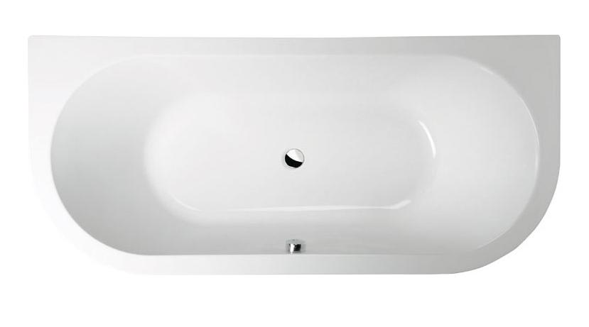 Акриловая ванна Alpen Viva D 175x80 без гидромассажа
