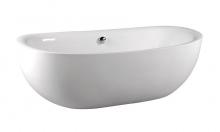 Акриловая ванна Alpen Zasu 180x81 без гидромассажа