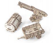 Конструктор 3D-пазл Ugears - Дополнение к грузовику UGM-11