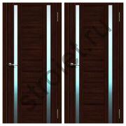 Двери L 23 микрофлекс  венге
