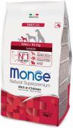 Monge Dog Daily Line Mini Senior Корм для пожилых собак мелких пород (3 кг)