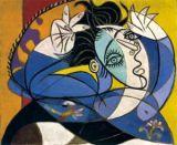 """Картина Пабло Пикассо """"Женщина с поднятыми руками"""""""