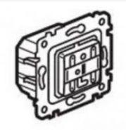 Выключатель  двойной  Galea Life с инд. PLC/ИК  2х1000 Вт (арт.775634)
