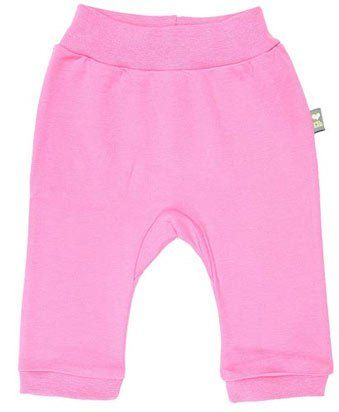 Розовые брюки ясельные для девочки