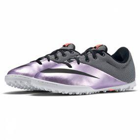 Детские шиповки-сороконожки Nike MercurialX Pro TF Junior фиолетовые