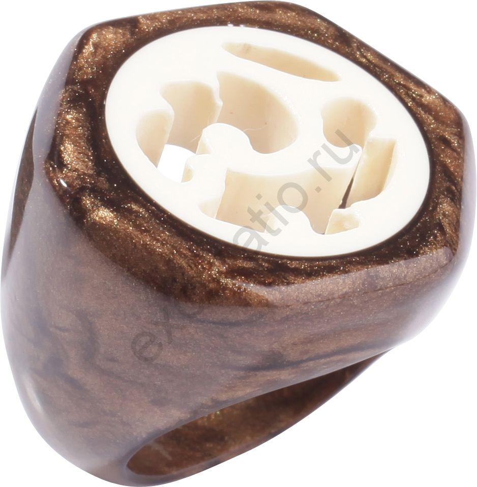Кольцо Zsiska 5200601BROWQ0L. Коллекция Anticue