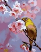 """Раскраска по номерам """"Весна"""""""