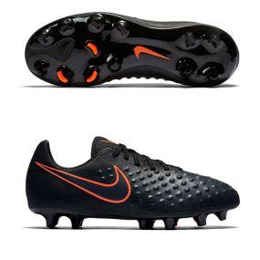 Детские бутсы Nike Magista Opus II FG чёрные