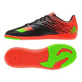 Детские футзалки adidas Messi 15.3 IN Junior чёрные