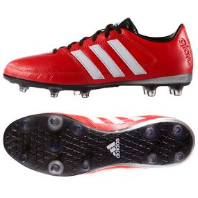 Бутсы adidas Gloro 16.1 FG красные