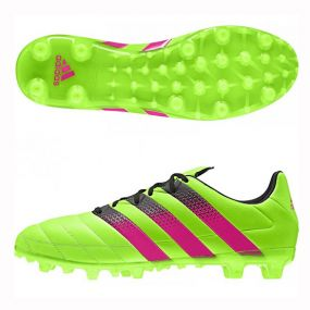 Бутсы adidas Ace 16.3 Leather FG/AG зелёные