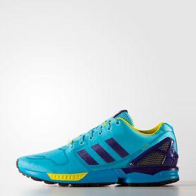 Кроссовки adidas ZX Flux голубые