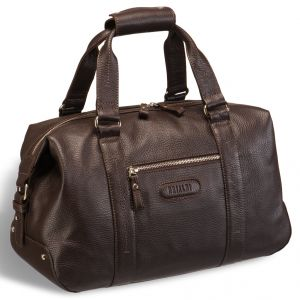 Спортивная сумка малого формата Brialdi Adelaide (Аделаида) relief brown