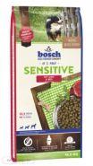 Bosch Sensitive Lamb & Riсe Полнорационный корм для собак, склонных к аллергии (15 кг)