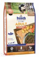 Bosch Adult with Salmon & Potato Полнорационный корм для взрослых собак с лососем и картофелем (3 кг)