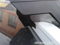 Багажник на интегрированные рейлинги Евродеталь, стальные прямоугольные дуги