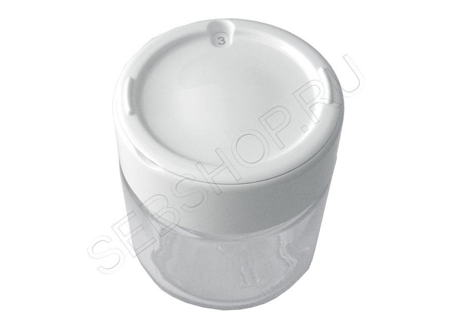 Баночка с крышкой для йогуртницы MOULINEX (Мулинекс) YOGURTEO модели YG230, YG231, YG232