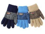 Перчатки  для мальчика, начес,двойные  (5-8г)-103руб
