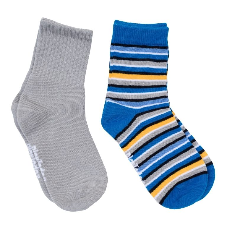 Носки для мальчика 7-8 лет Яркое настроение, 2 пары